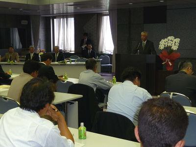 愛知県花き連の総会