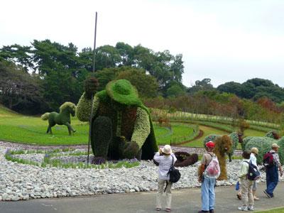 最大規模のカナダ・モントリオール市の作品「木を植えた男」
