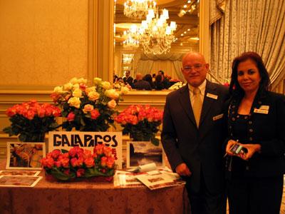 エクアドルの花き生産者がバラなど売り込み