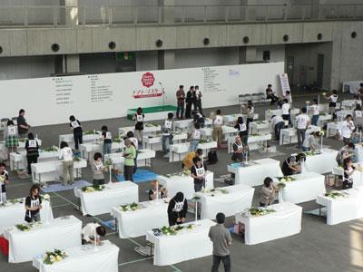 大阪でフラワーマスターズ2010。最後の開催に全国の参加者が熱戦