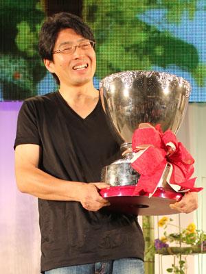 ジャパンカップで3度目の優勝をした日坂明広氏