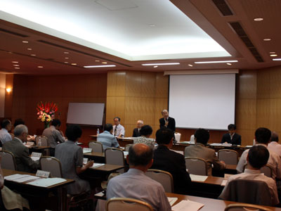日本花普及センターの評議員会・理事会