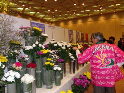 大阪で「九州フラワートレードフェア」。JAふくおか八女の出展