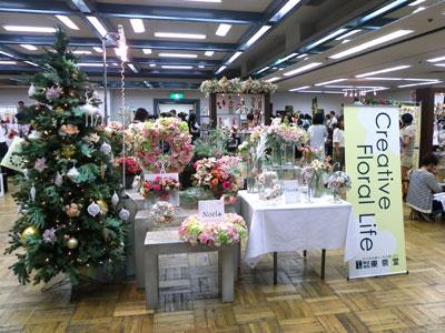 東京堂大阪展示会でクリスマス向けの展示