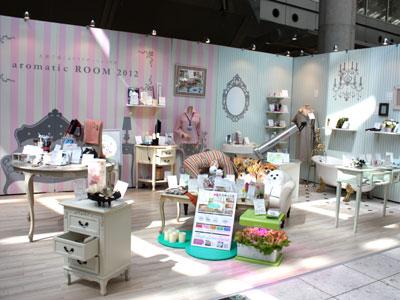 東京ギフト・ショー秋。特別展示「aromatic ROOM」でリラクセーション空間を提案