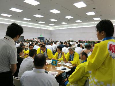 大田花き薔薇会議の交流会で活発に意見・情報交換